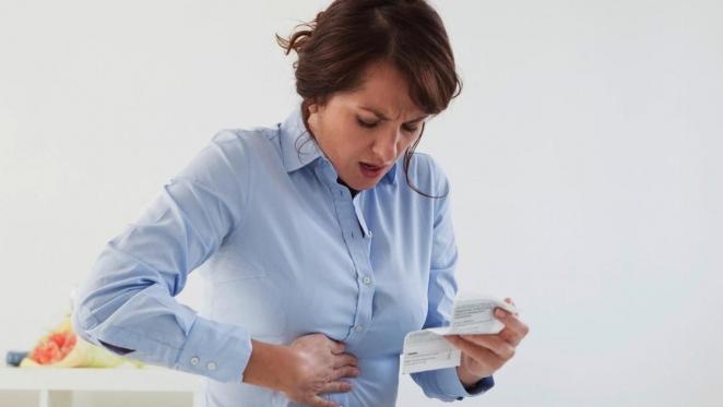 жовчна коліка - Як надати першу допомогу
