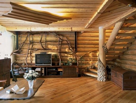 наружная и внутренняя отделка деревянного дома