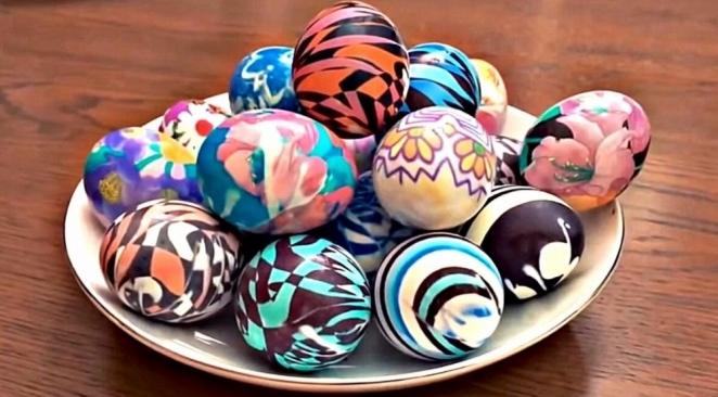 Советы по окраске яиц к пасхе