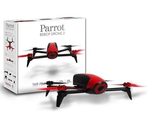 Parrot доработала квадркоптер «Дрон», усовершенствовав батарею питания